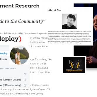 Best of Bloggers Windows Client Deployment